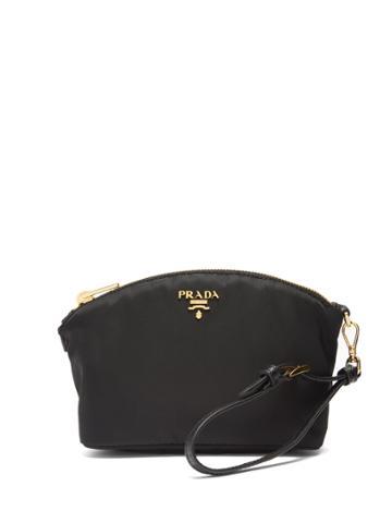 Prada Leather-trimmed Make-up Bag