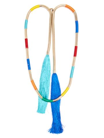 Rosantica By Michela Panero Isabel Double-tassel Necklace