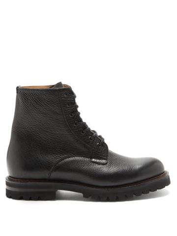 Matchesfashion.com Church's - Coalport Grained-leather Boots - Mens - Black