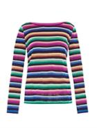Missoni Striped Fine-knit Sweater