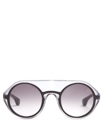 Blake Kuwahara Gropius Round-frame Sunglasses