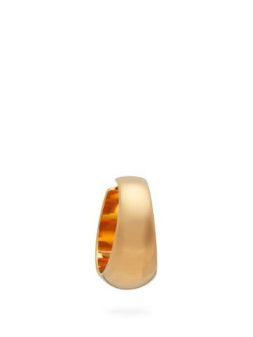 Matchesfashion.com Lemaire - Chunky Hoop Ear Cuff - Womens - Gold