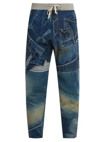 Kuro Remake Patchwork Jeans
