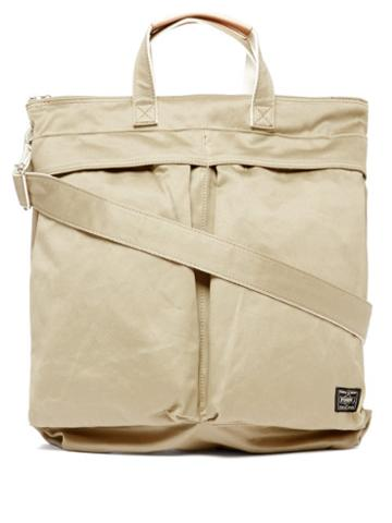 Matchesfashion.com Porter-yoshida & Co. - Weapon 2way Cotton-canvas Tote Bag - Mens - Beige