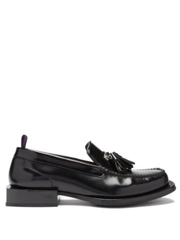 Matchesfashion.com Eytys - Rio Tassle Leather Loafers - Mens - Black