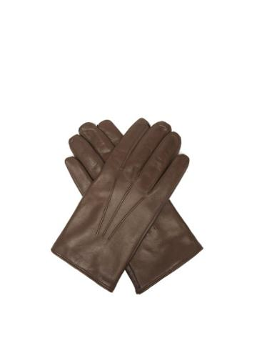 Matchesfashion.com Paul Smith - Leather Gloves - Mens - Brown