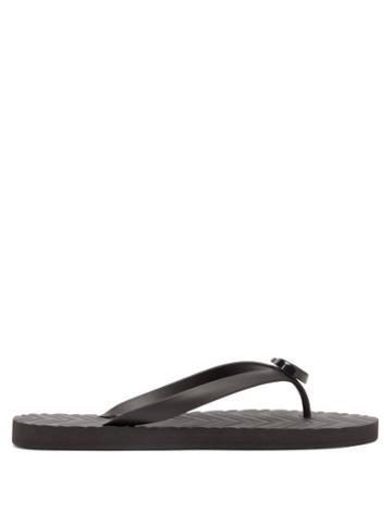 Mens Shoes Gucci - Gg Flip Flops - Mens - Black