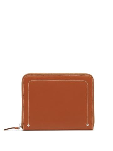Connolly Zip-around Leather Wallet