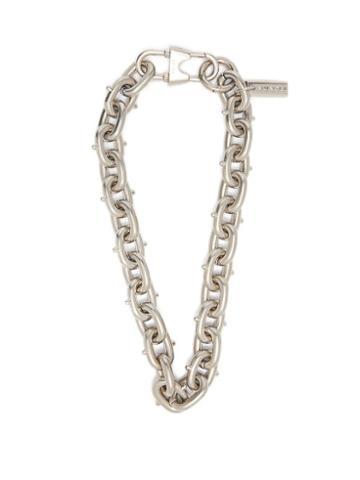 Matchesfashion.com Prada - Chunky Chain Necklace - Mens - Silver