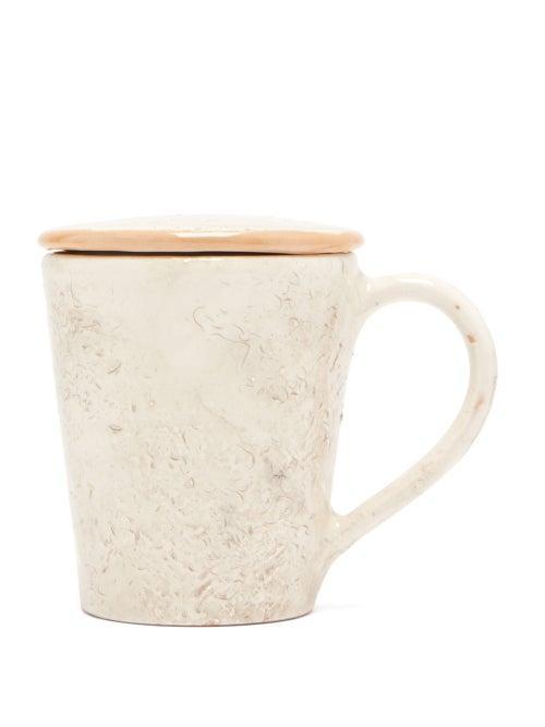 Matchesfashion.com Brunello Cucinelli - Ceramic Cup And Saucer - Cream