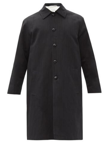 Matchesfashion.com Namacheko - Taraxacum Cotton-blend Car Coat - Mens - Black