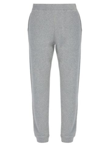 Matchesfashion.com Sunspel - Cotton Track Pants - Mens - Grey