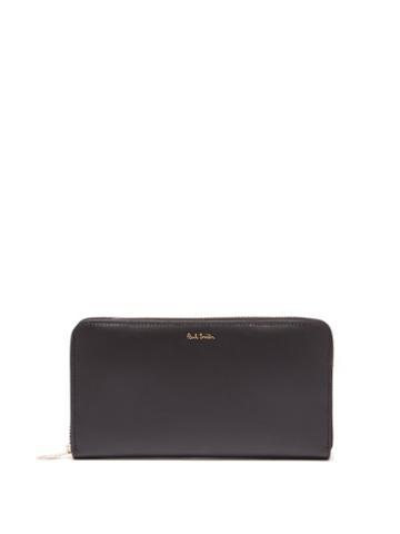 Matchesfashion.com Paul Smith - Signature Stripe Leather Wallet - Mens - Black