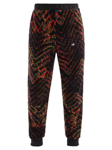 Matchesfashion.com The North Face - Fleeski Zigzag-print Fleece Track Pants - Mens - Multi