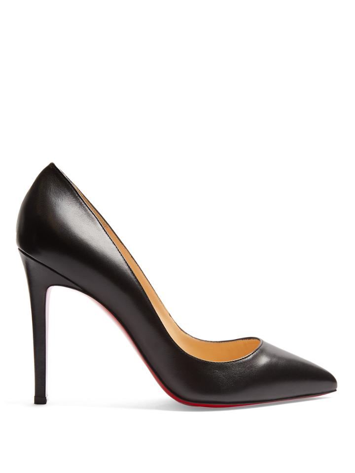 Christian Louboutin Pigalle 100mm Leather Pumps