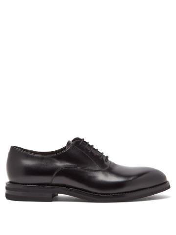 Matchesfashion.com Brunello Cucinelli - Leather Oxford Shoes - Mens - Black