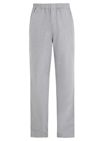 Hamilton And Hare Mid-rise Cotton Track Pants