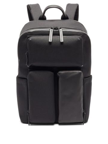 Matchesfashion.com Troubadour - Explorer Ridge Canvas And Leather Backpack - Mens - Black
