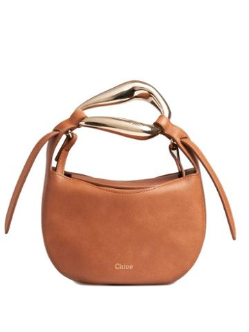 Matchesfashion.com Chlo - Kiss Leather Cross-body Bag - Womens - Tan