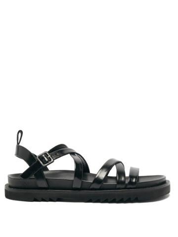 Matchesfashion.com Simone Rocha - Beaded Leather Sandals - Womens - Black