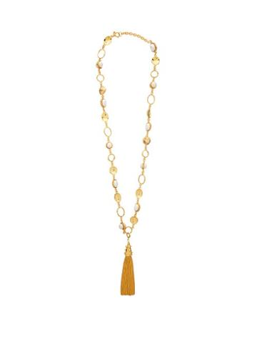 Matchesfashion.com Sylvia Toledano - Faux Pearl Embellished Necklace - Womens - Pearl