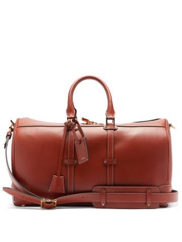 Matchesfashion.com Amiri - Leather Duffle Bag - Mens - Brown