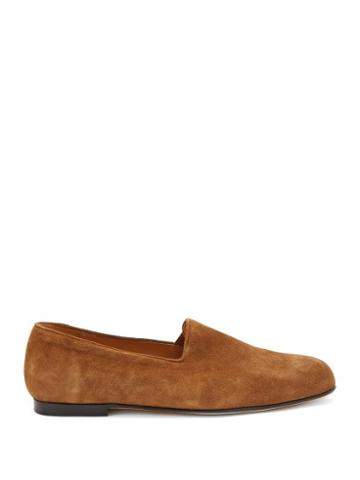 Matchesfashion.com Jacques Soloviere - Pantome Suede Loafers - Mens - Light Brown