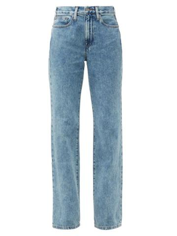 Matchesfashion.com Frame - Le Jane Straight-leg Jeans - Womens - Denim
