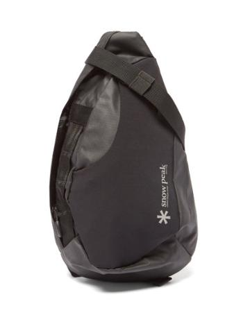 Snow Peak - Side Attack Ripstop Backpack - Mens - Black