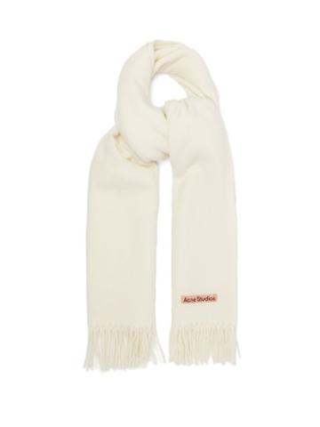 Acne Studios - Canada New Wool Scarf - Mens - White