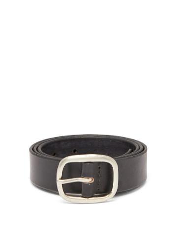 Matchesfashion.com Maximum Henry - Leather Belt - Mens - Black