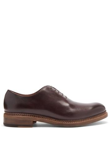 Matchesfashion.com O'keeffe - Algy Leather Oxford Shoes - Mens - Brown Multi