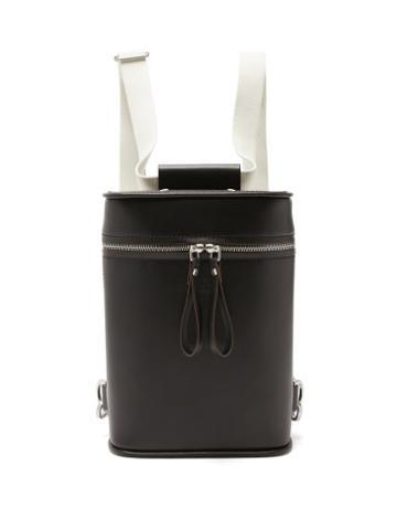 Matchesfashion.com Maison Margiela - Four-stitches Leather Backpack - Mens - Black