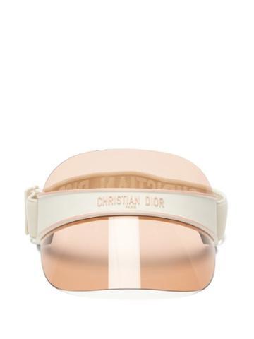 Matchesfashion.com Dior - Diorclub V1u Tinted Visor - Womens - Beige