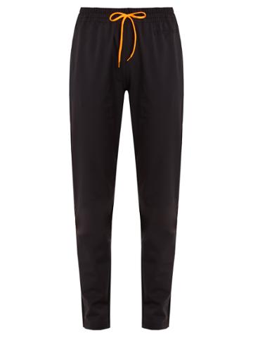Versace Tapered-leg Performance Track Pants