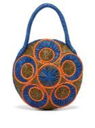 Sophie Anderson Saba Woven-raffia Bag