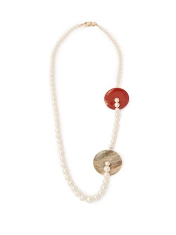 Matchesfashion.com Timeless Pearly - Perla Pearl & Stone Necklace - Womens - Pearl