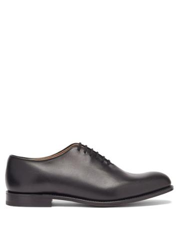 Matchesfashion.com Church's - Athens Leather Oxford Shoes - Mens - Black