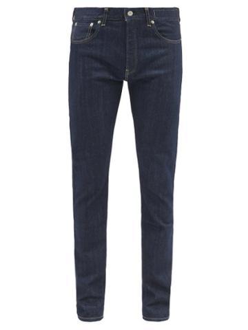 Kuro - Diamante Slim-leg Jeans - Mens - Blue