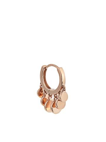 Jacquie Aiche Rose-gold Earring