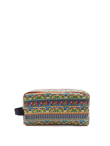 Dolce & Gabbana Majolica-print Make-up Bag