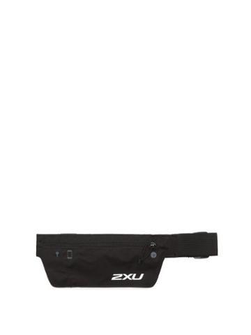 Matchesfashion.com 2xu - Run Logo-print Running Belt - Mens - Black