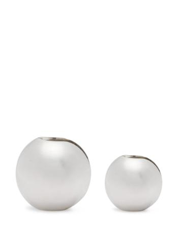 Alan Crocetti Spherical Sterling Silver Ear Cuff Set