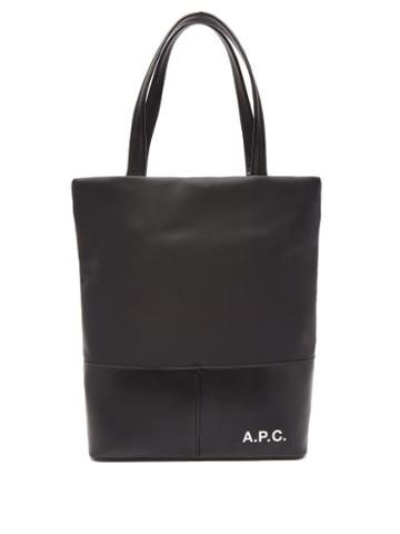 Matchesfashion.com A.p.c. - Camden Logo Print Tote Bag - Mens - Black