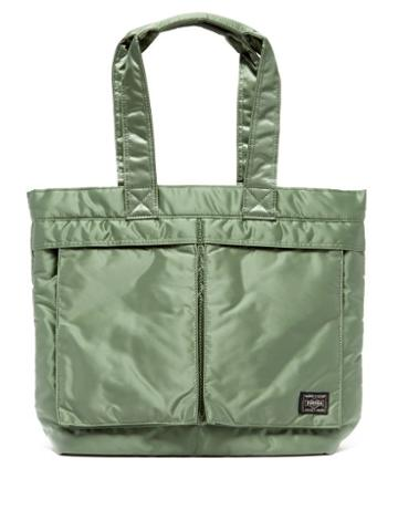 Matchesfashion.com Porter-yoshida & Co. - Tanker Tote Bag - Womens - Green