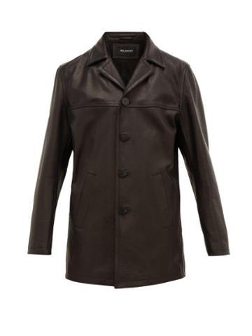 Matchesfashion.com Neil Barrett - Leather Jacket - Mens - Black