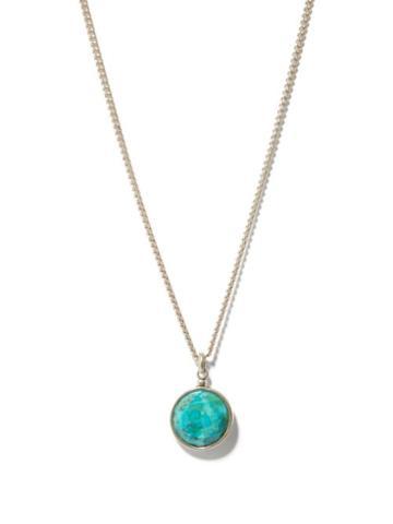 Isabel Marant - Stone-pendant Necklace - Mens - Silver