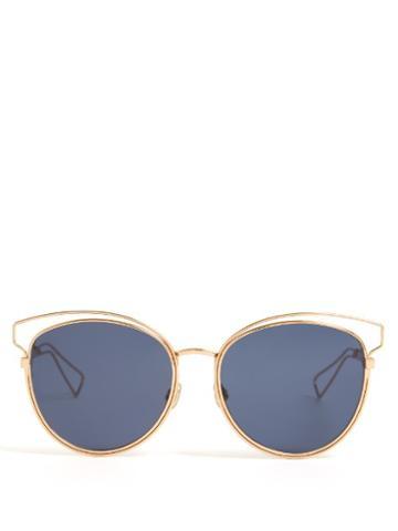 Dior Cat-eye Mirrored Sunglasses