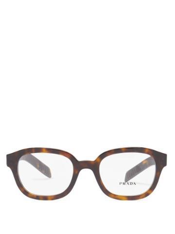 Prada Eyewear - D-frame Tortoiseshell Acetate Glasses - Mens - Tortoiseshell