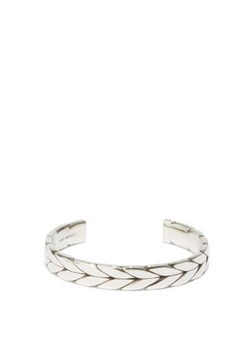 Isabel Marant - Braided-effect Bracelet - Mens - Silver